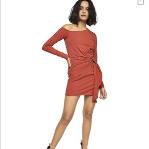 NWT Free People Frankie Long Sleeve Bodycon Dress
